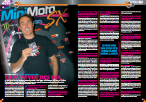 MiniMoto 2008 Interview Peronnard